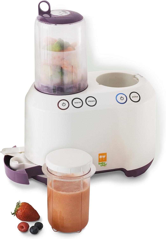 Baby Chef - Licuadora para comida de bebés: Amazon.es: Bebé