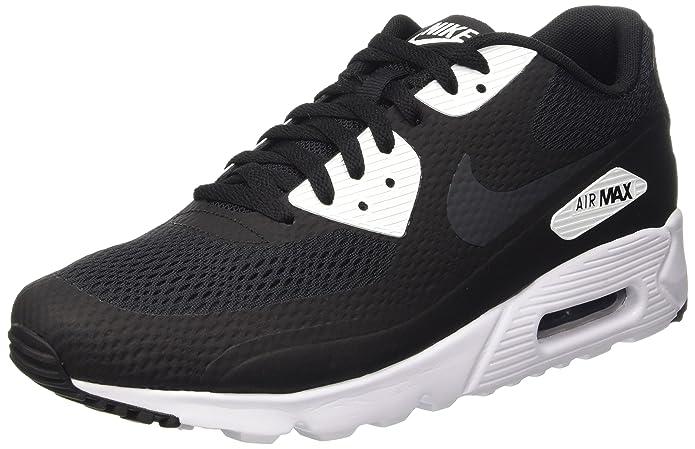 c2c7c578c Amazon.com | NIKE Men's Air Max 90 Ultra Essential, Black/Anthracite-White,  8 M US | Shoes
