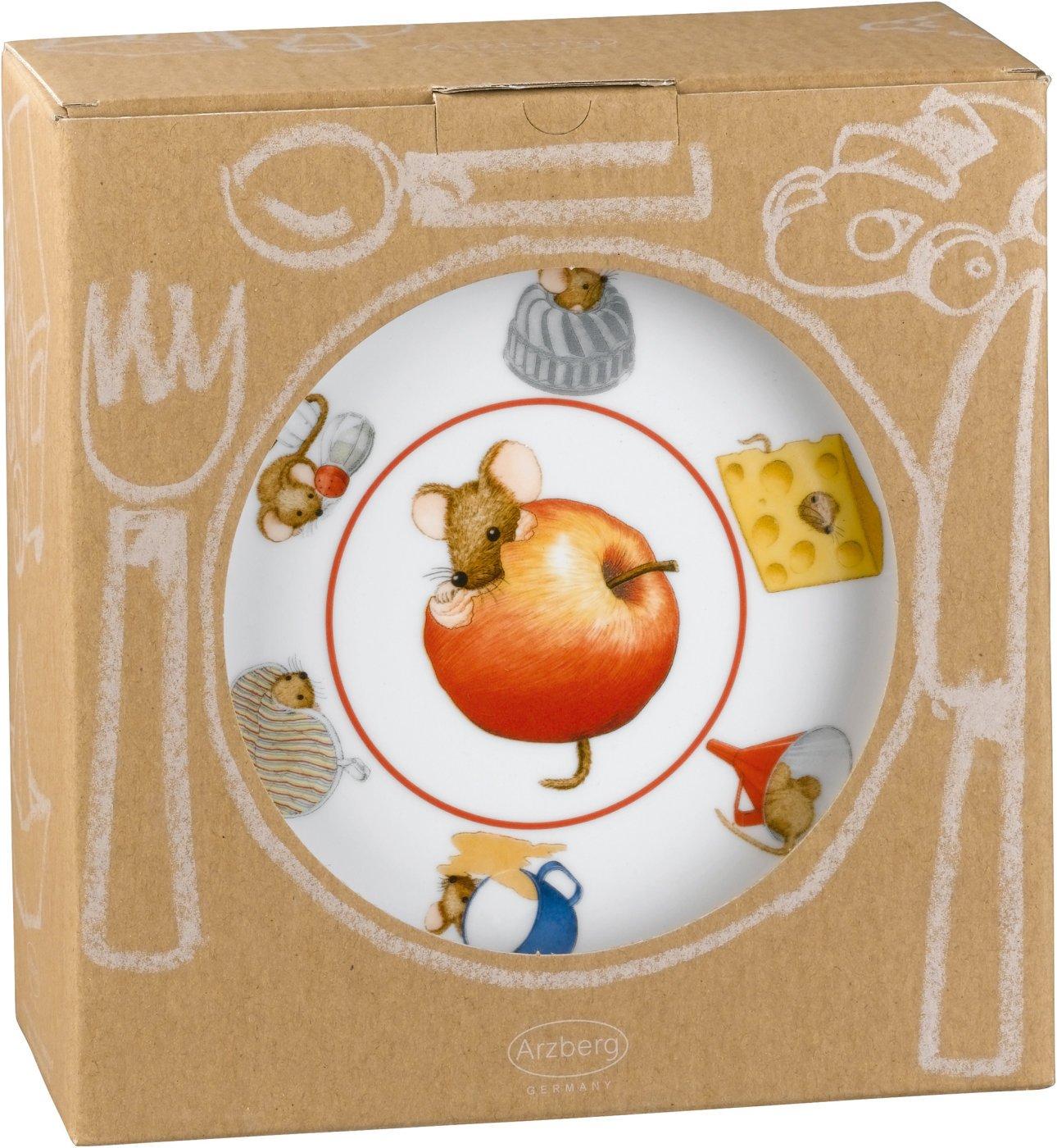 K/üchenmaus im Geschenkkarton Arzberg Form Daily Kinderset 3-tlg