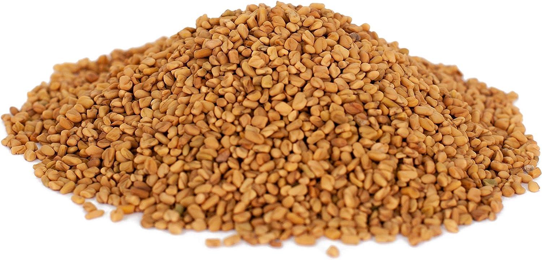 Semillas de Fenogreco BIO 1 kg orgánicos, enteras para germinar, kg ecológico, harina, calidad superior, organic fenugreek seeds 1000g