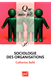 Sociologie des organisations: « Que sais-je ? » n° 2499