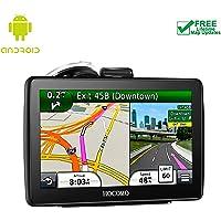HOCOMO - Navegador GPS de 7 Pulgadas para Coche con Wi-Fi Integrado y actualizaciones