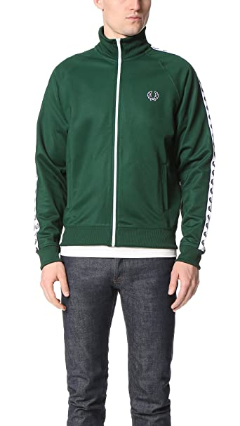Fred Perry Laurel Wreath Tape Chaqueta de deporte ivy ...