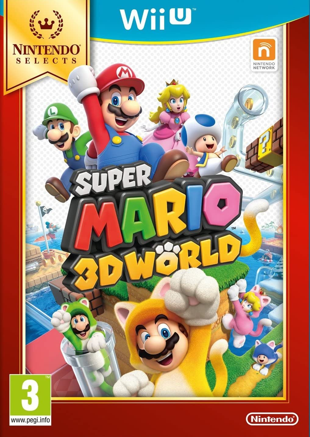 Nintendo Selects: Super Mario 3D World: Amazon.es: Videojuegos