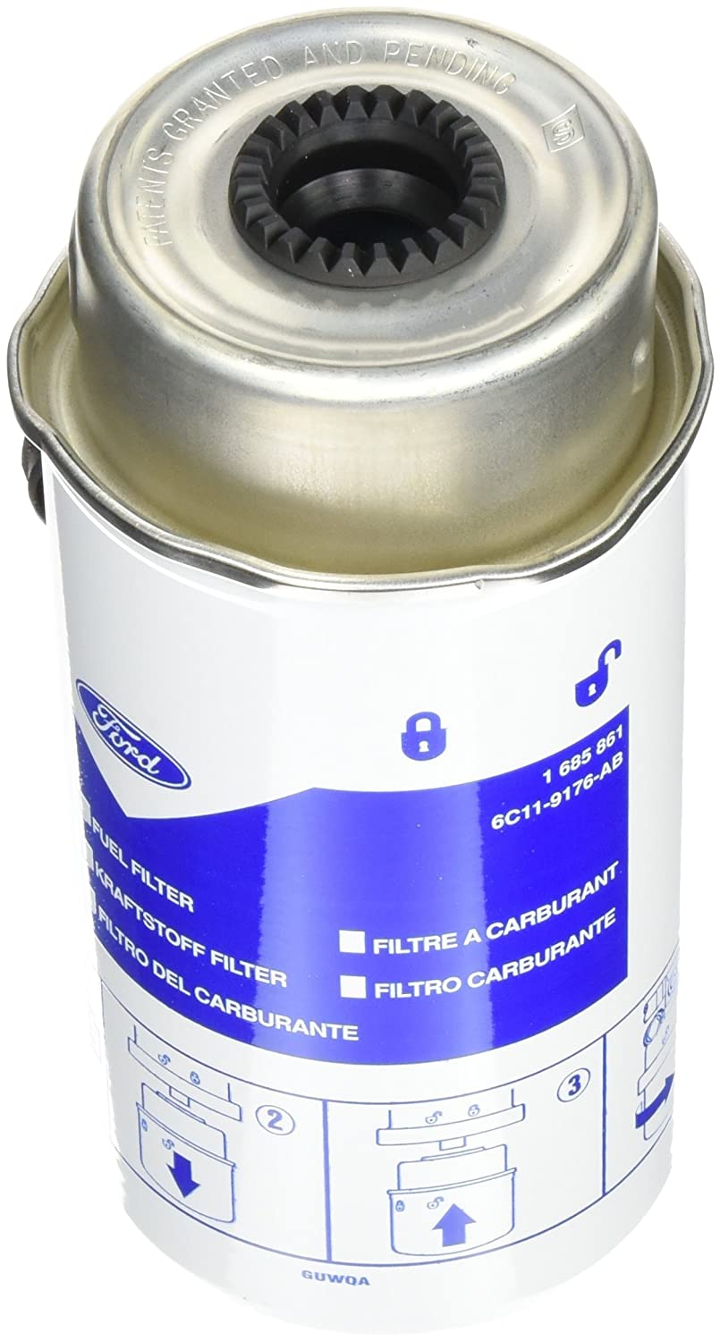 Ford 1685861 Fuel Filter Diesel, 2.2/2.4/3.2 Liters Ford Motor Company