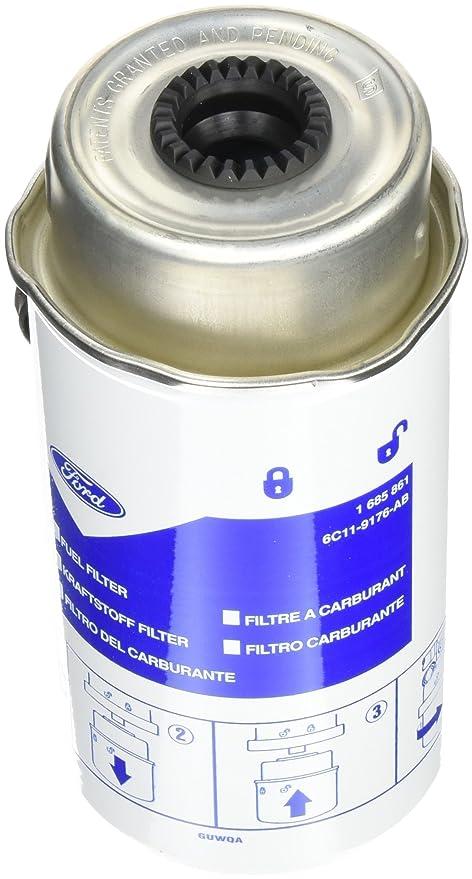 ford 1685861 fuel filter diesel, 2 2/2 4/3 2 liters: amazon co uk: car &  motorbike