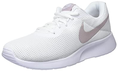 the best attitude a3608 2831b Nike WMNS Tanjun, Baskets Femme, (Blanc Rose Particule 102), 36