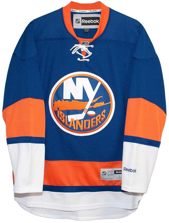 37b4d63af4a Amazon.com   New York Islanders Home Blue Reebok Premier Men s Jersey    Sports   Outdoors