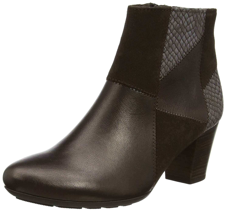 Gabor Shoes Comfort Basic, Botas para Mujer Multicolor (Kupfer K. Micro)