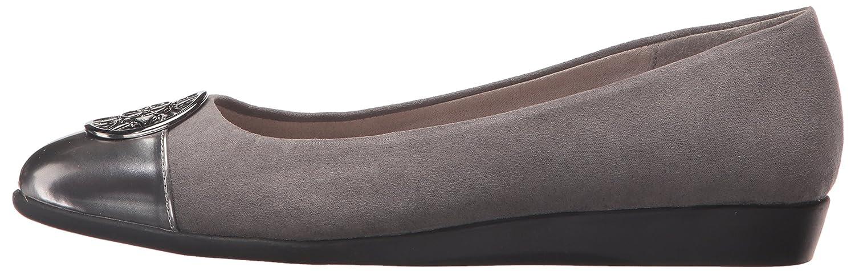 Aerosoles A2 by Women's Trend Book Ballet Flat Combo B072L88N47 6 B(M) US|Grey Combo Flat df793d