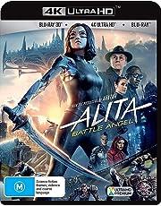ALITA: BATTLE ANGEL 4K UHD BLU-RAY + 3D (INITIAL ONLY)