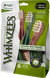 Whimzees Toothbrush Star Dental Treat Bag of 6