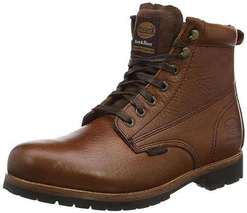 Dockers 35JO005 Color Botas de Cuero para Hombre, Color 35JO005 marrón, Talla 42 8cc041