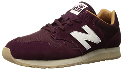 537426a2bf57d New Balance Men's 520 Trainers, Red (Burgundy/Brown Sugar Blue), 4.5