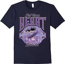 Disney Aladdin Jasmine Let Your Heart Decide Ride T-Shirt