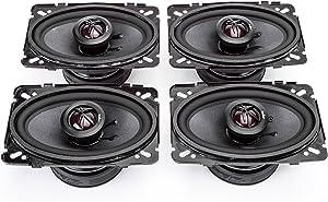 (2) Skar Audio TX46 Elite 4-Inch x 6-Inch 2-Way Coaxial Speakers - (2) Pairs