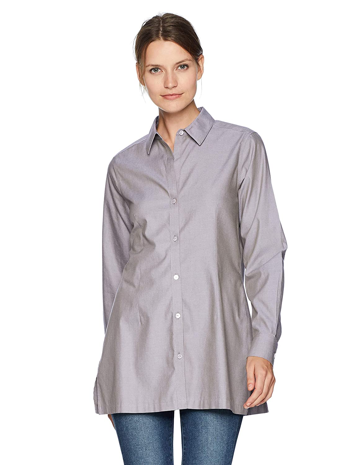 Sterling Foxcroft Womens Harlow Essential Non Iron Tunic Tunic Shirt