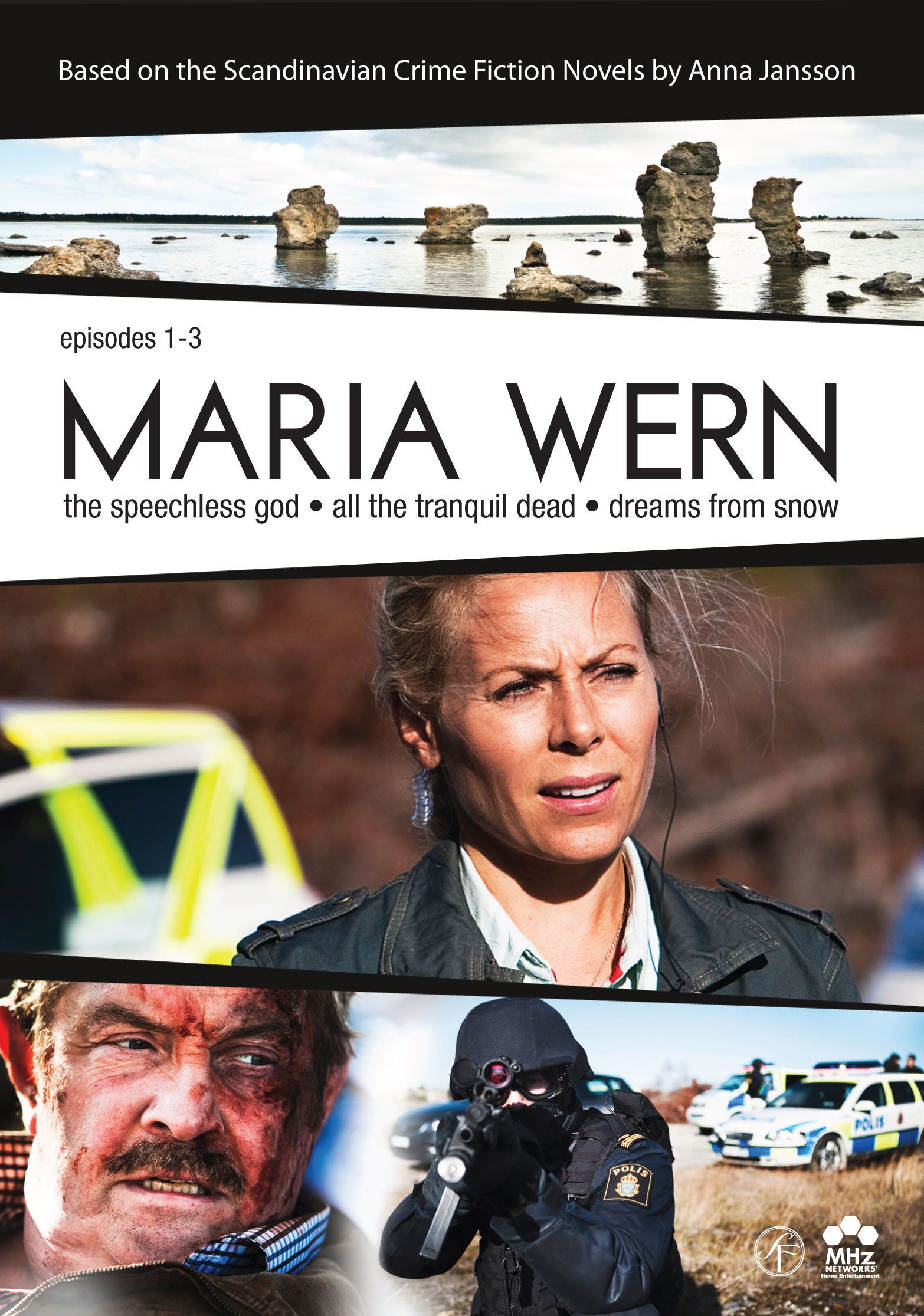 DVD : Maria Wern (Boxed Set, Subtitled, 3PC)