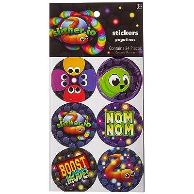 amscan BirthdayExpress Slither.Io Sticker Sheets: Toys & Games [5Bkhe1102200]