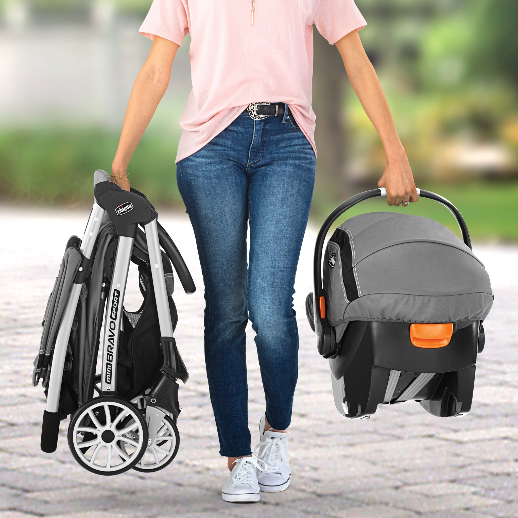 Chicco Mini Bravo Sport Travel System, Carbon by Chicco (Image #8)