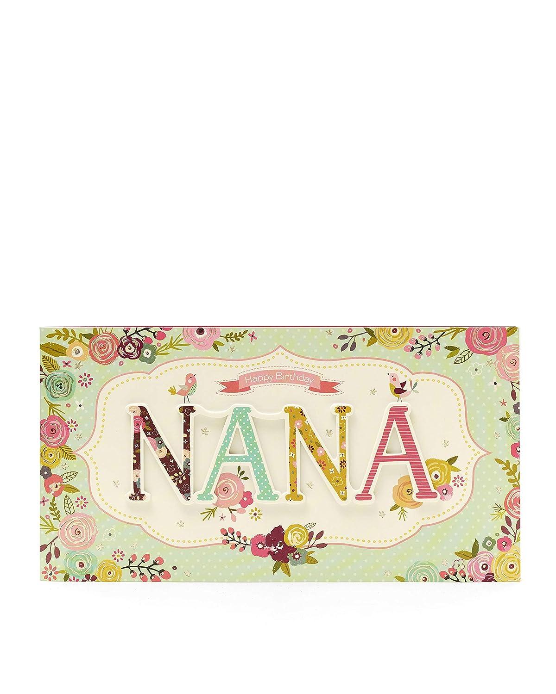 Nana Birthday Card Gift Card For Her Birthday Gifts For Her Gifts For Nana Perfect Birthday Card For Grandma Gran Nan Nanna