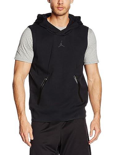 f4519d4cea2577 Jordan Ultimate Flight Fleece Sleeveless Hoodie Mens Style  724787-010  Size  S