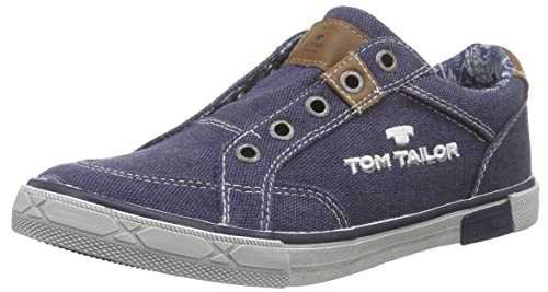 TOM TAILOR Kids Tom Tailor Kinderschuhe, Mocasines para Niños, Azul (Marino), 34 EU: Amazon.es: Zapatos y complementos