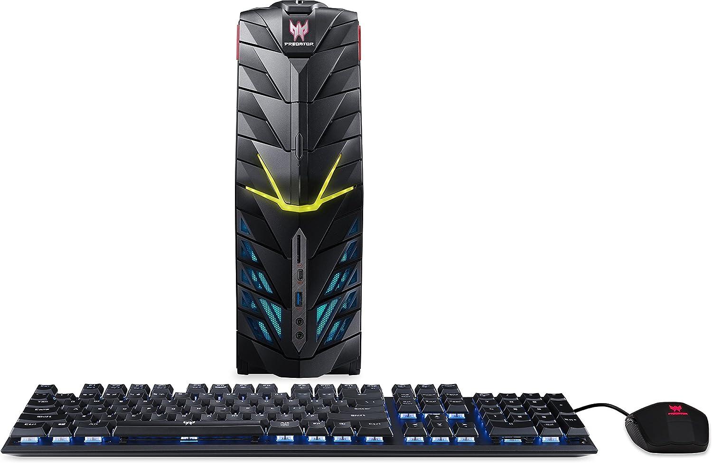 Acer Predator Desktop, Intel Core i7, GeForce GTX 1080, 16GB DDR4, 512GB SSD, 2TB HDD, Win 10, G1-710-70003