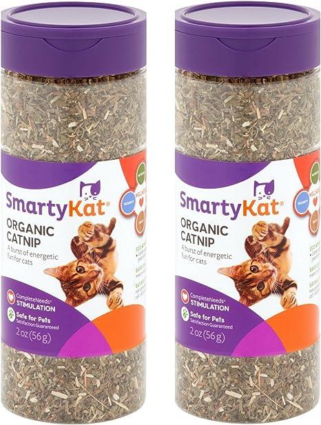 Amazon Com Smartykat Organic Catnip 2 Pack Pet Supplies