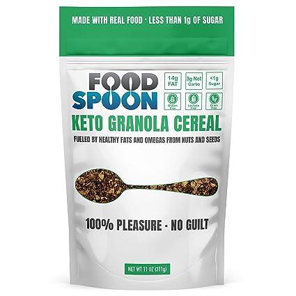 Cereal Keto Granola – sin azúcar y grano añadido, red de ...