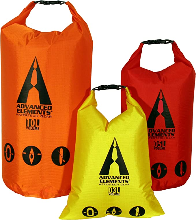 Advanced Elements Pack Lite Roll Top Dry Bag (Set de 3): Amazon.es ...