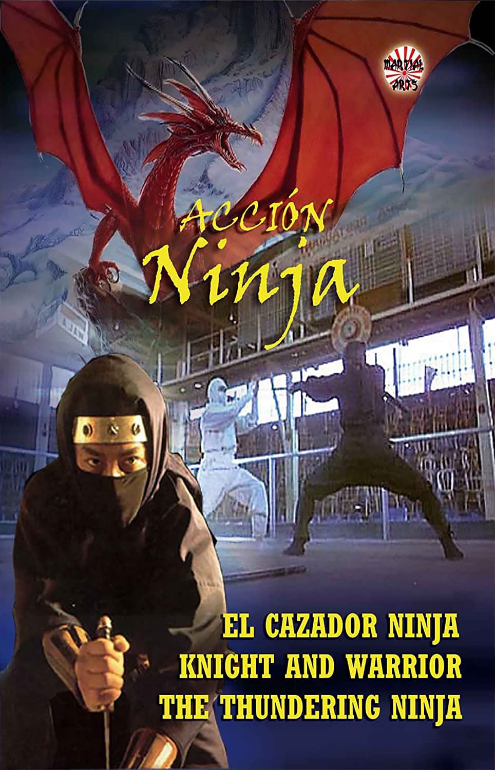 Pack Acción Ninja: El Cazador Ninja/Knight and Warrior/The ...