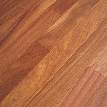 Cumaru Light Sample Brazilian Teak Solid Hardwood Floor Wood