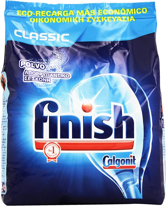 Finish ECO Recarga Lavavajillas Polvo, 2 kg: Amazon.es: Salud y ...