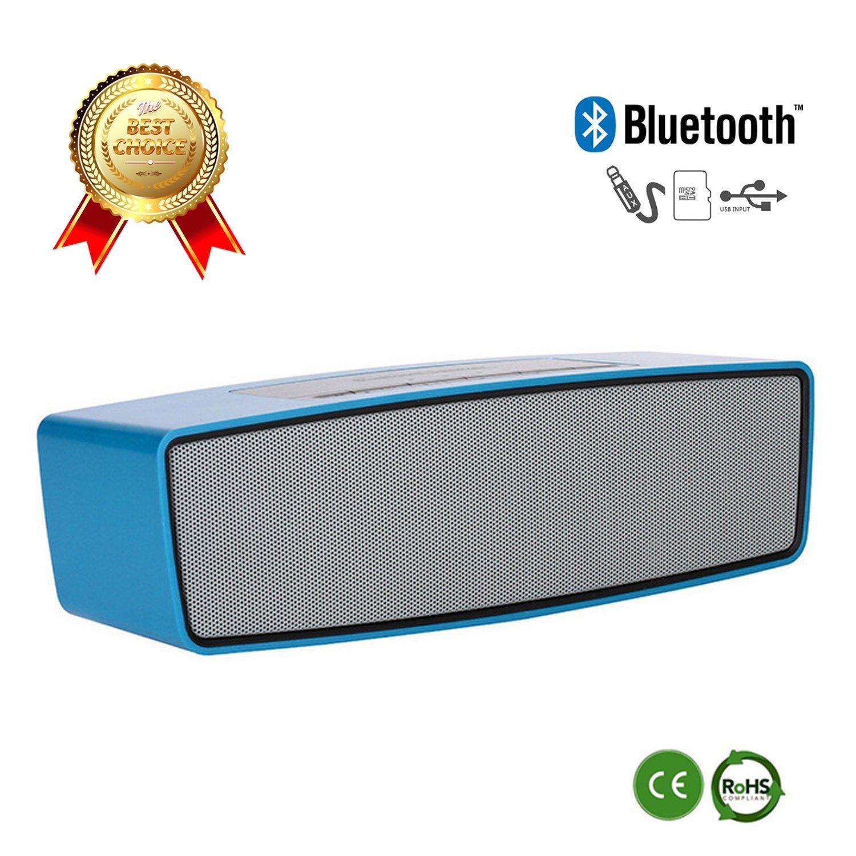 EasyAcc DP100 Ultraportabler Bluetooth 4.0 Lautsprecher mit Mikrofon und AUX