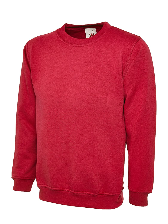 Uneek Premium Sweatshirt 350 GSM Brushed Effect Jumper - 7 Colours Available