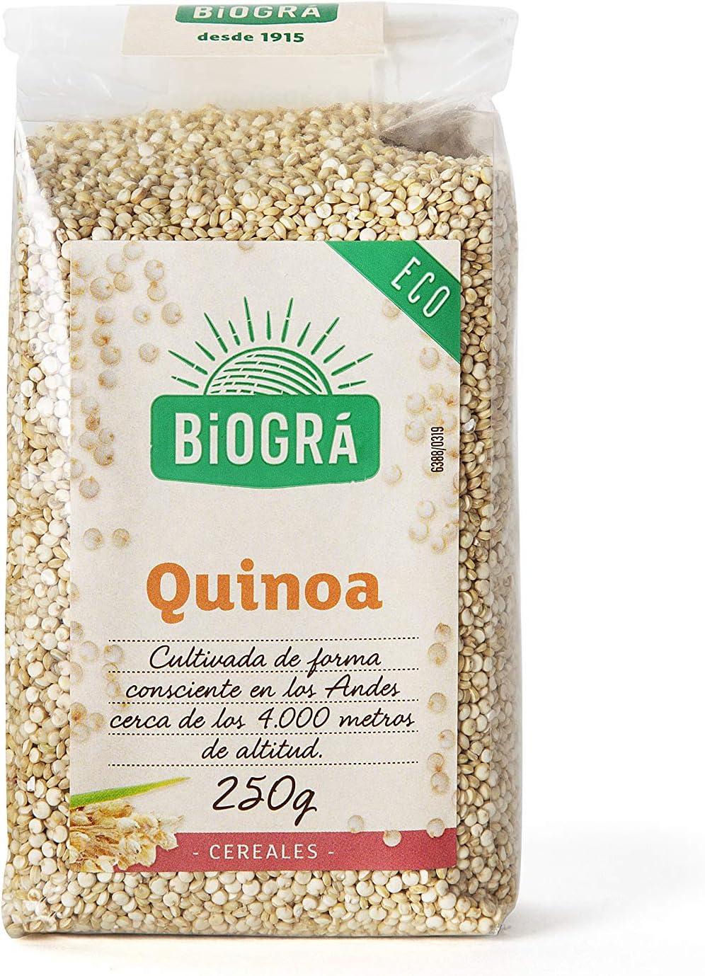Biográ Semillas de Quinoa, 250g: Amazon.es: Alimentación y ...