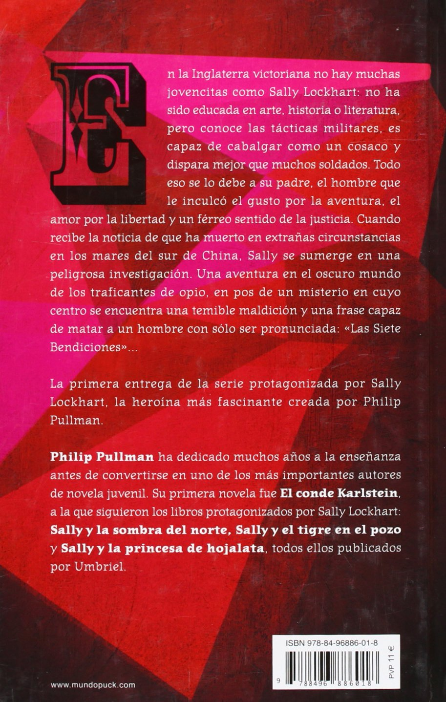 Amazon.com: SALLY Y LA MALDICION DEL RUBI (Sally Lockhart Mysteries) (Spanish Edition) (9788496886018): Philip Pullman: Books