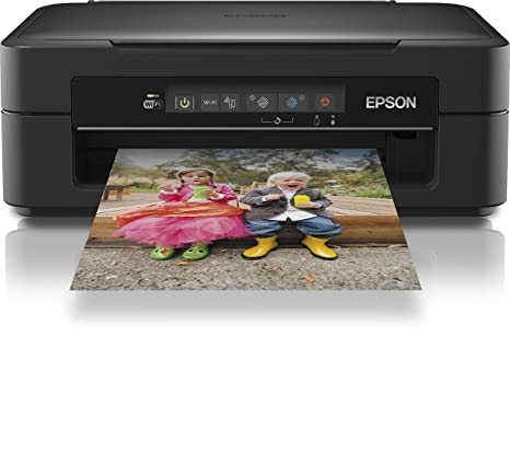 Epson Home XP-215 - Impresora multifunción de Tinta (B/N 26 PPM, Color 13 PPM), Negra
