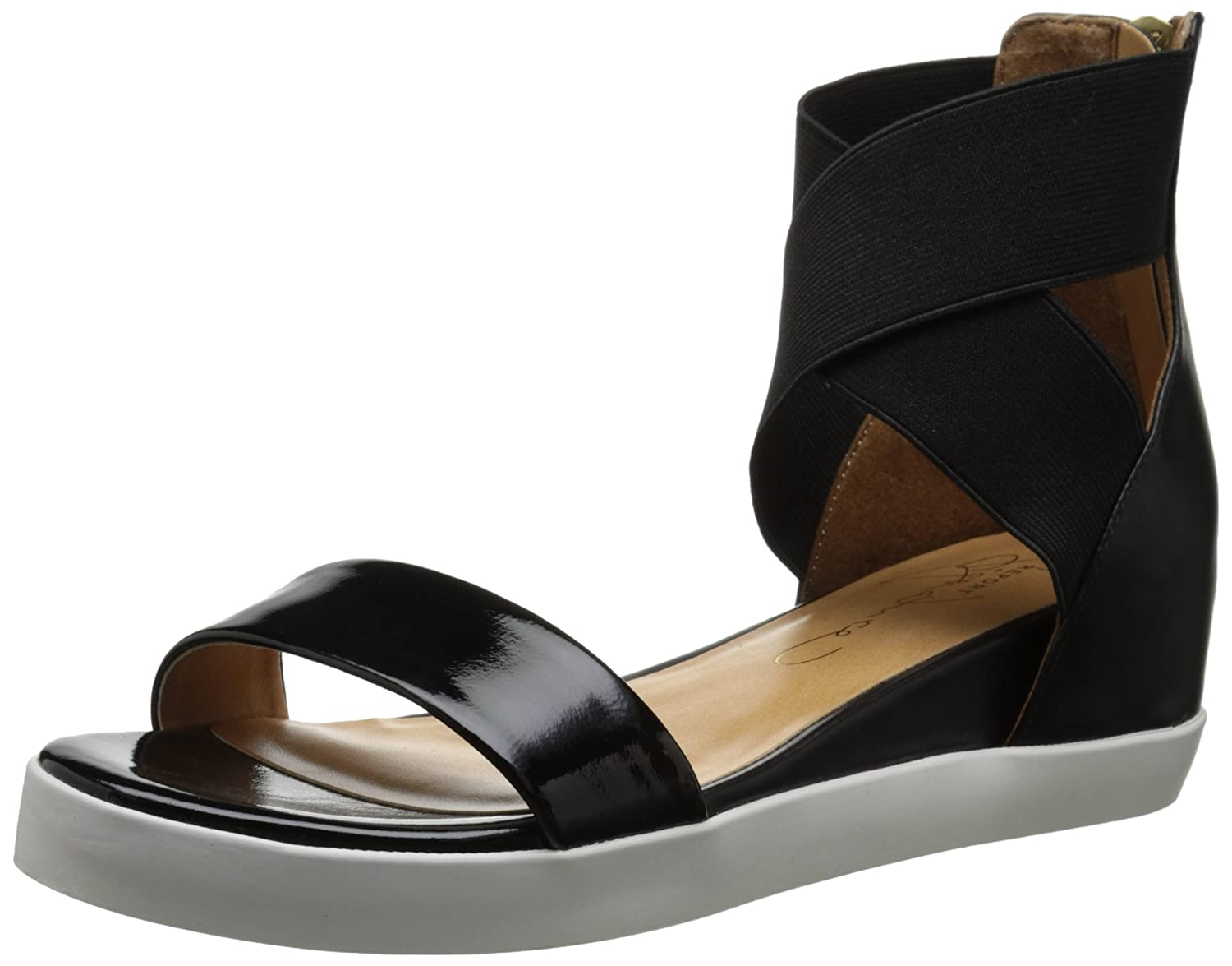 Report Signature Women's Catherine Platform Sandal B000VU1LGG 6.5 B(M) US|Black