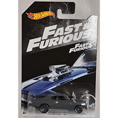 HOT Wheels 1:64 Scale Fast & Furious, Gray '70 Chevelle SS 2/6: Toys & Games