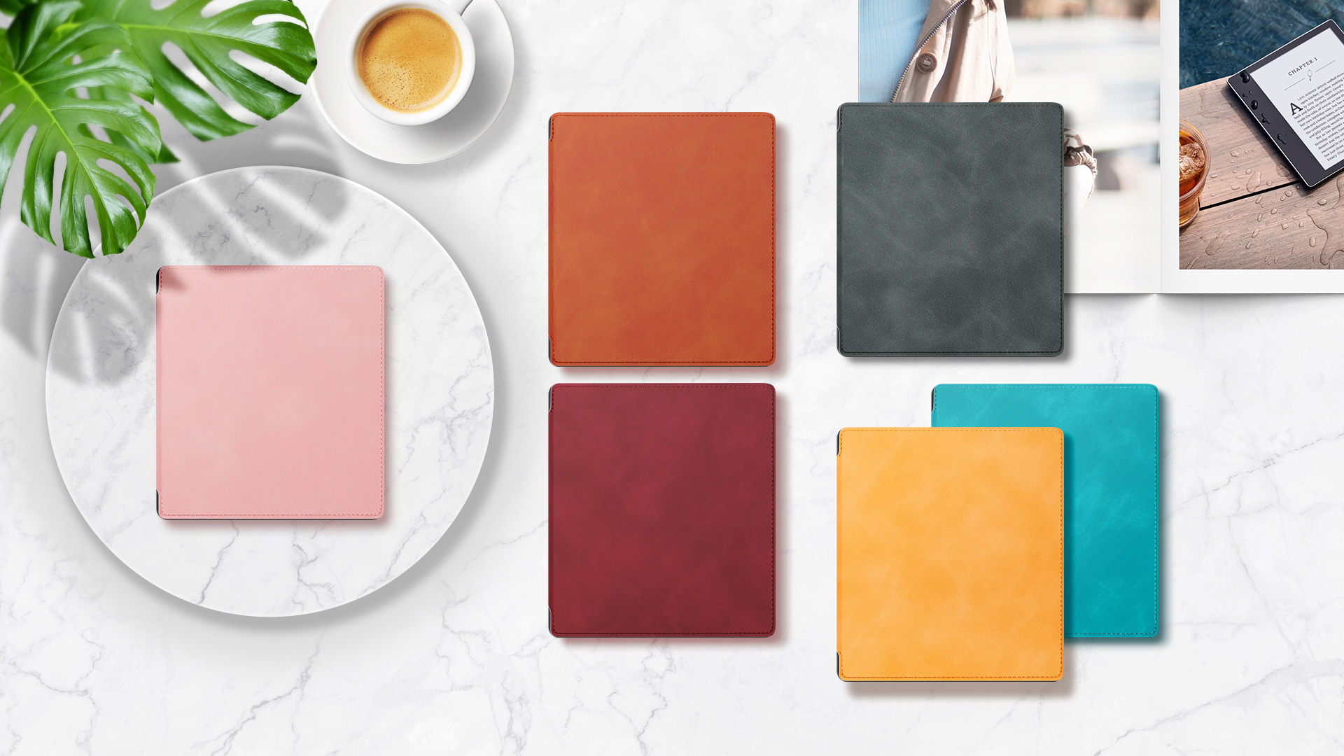 10th Gen, 2019 Release /& 9th Gen, 2017 Release ,with Auto Wake//Sleep,New Waterproof 7Kindle Oasis Cover,Soft Shell Series KO The Dark Gray Ayotu Skin Touch Feeling Case for All-New Kindle Oasis