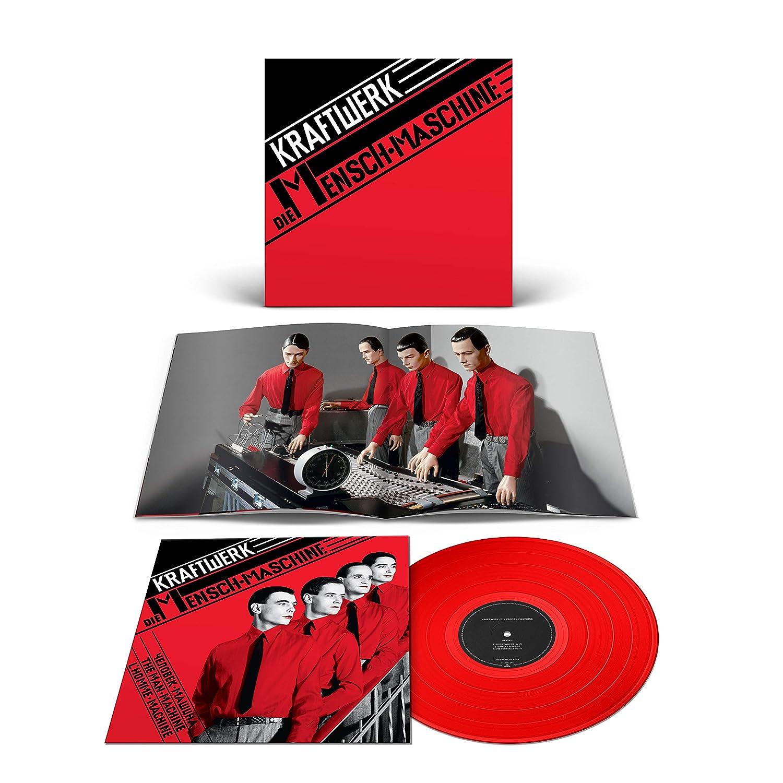 Kraftwerk - Die Mensch- Maschine (Coloured) (Limited Edition) [Vinilo]