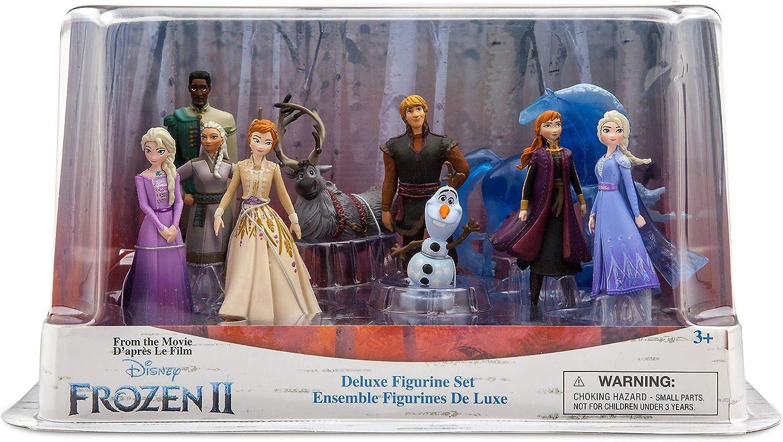 Frozen 2 Disney Deluxe Figure Playset Action Figures 10 Piece Figure Set Spielzeug