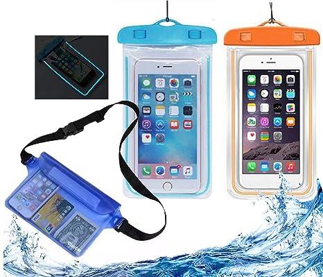 Amazon.com: Funda para teléfono impermeable 3 unidades ...