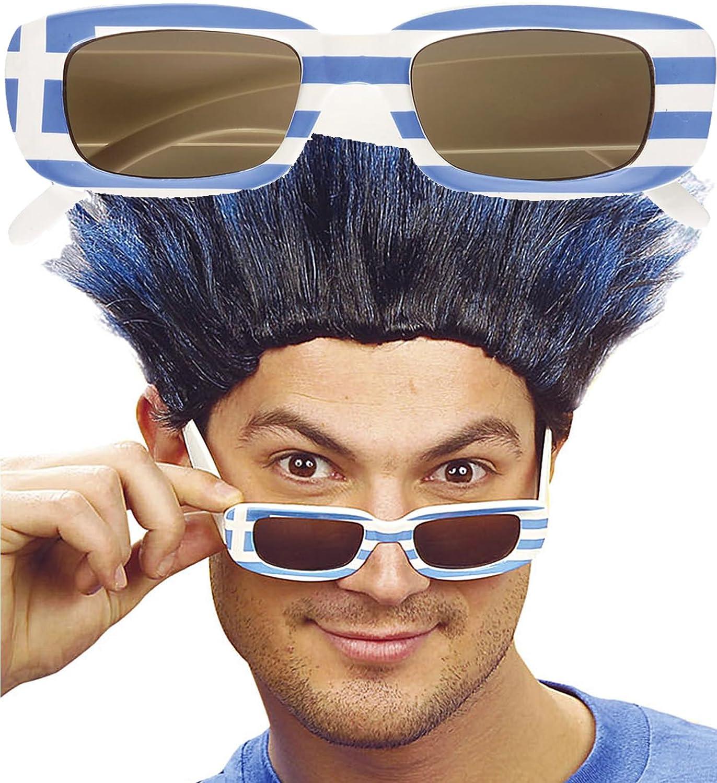 Fanbrille Sonnenbrille Griechenland