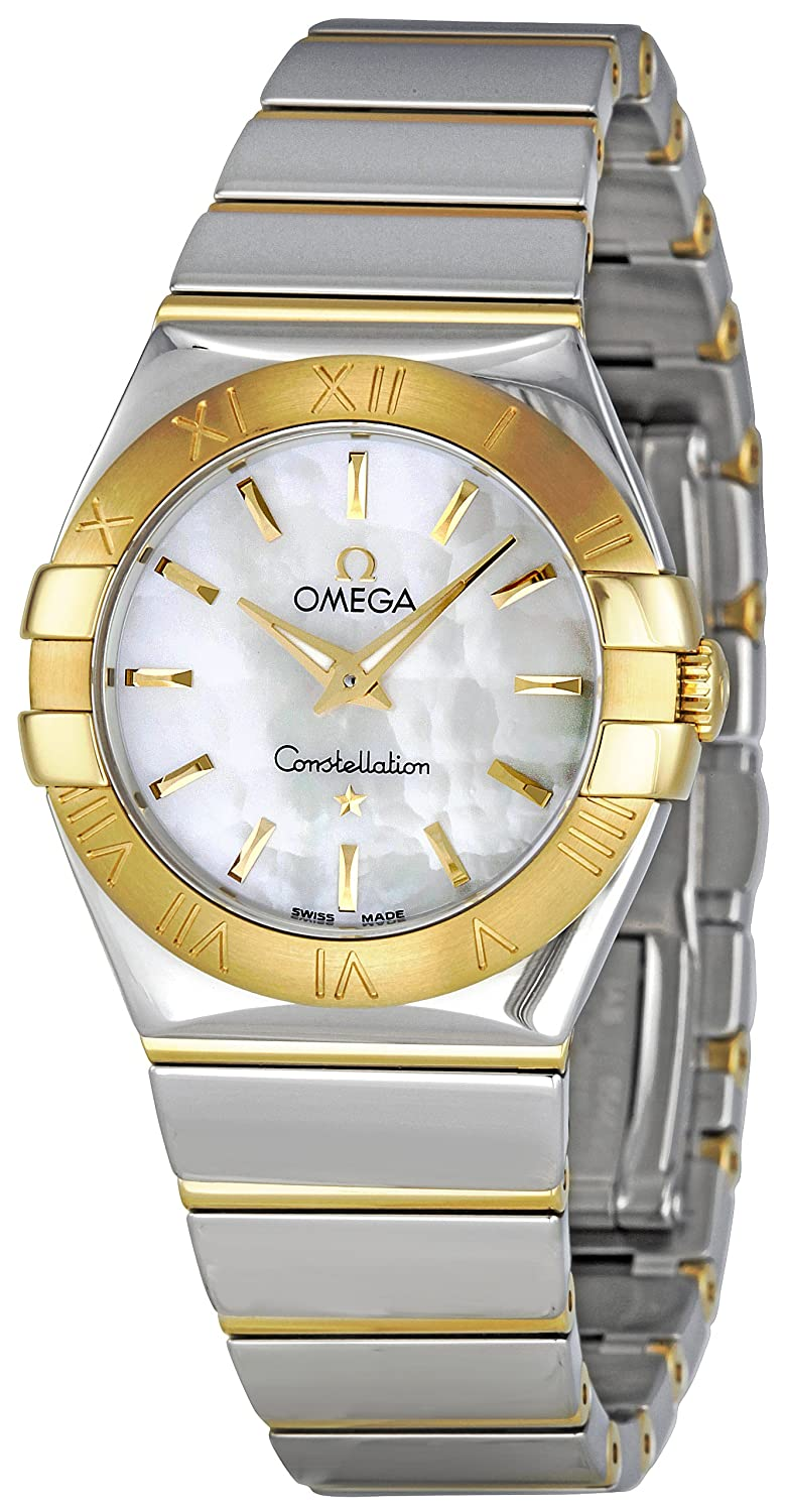 d48a9ee3d0b Amazon.com  Omega Women s 123.20.27.60.05.004 Constellation Mother-Of-Pearl  Dial Watch  Omega  Watches