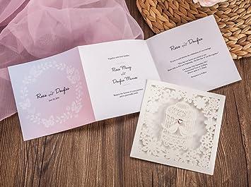amazon com wishmade 100x laser cut love bird heart wedding