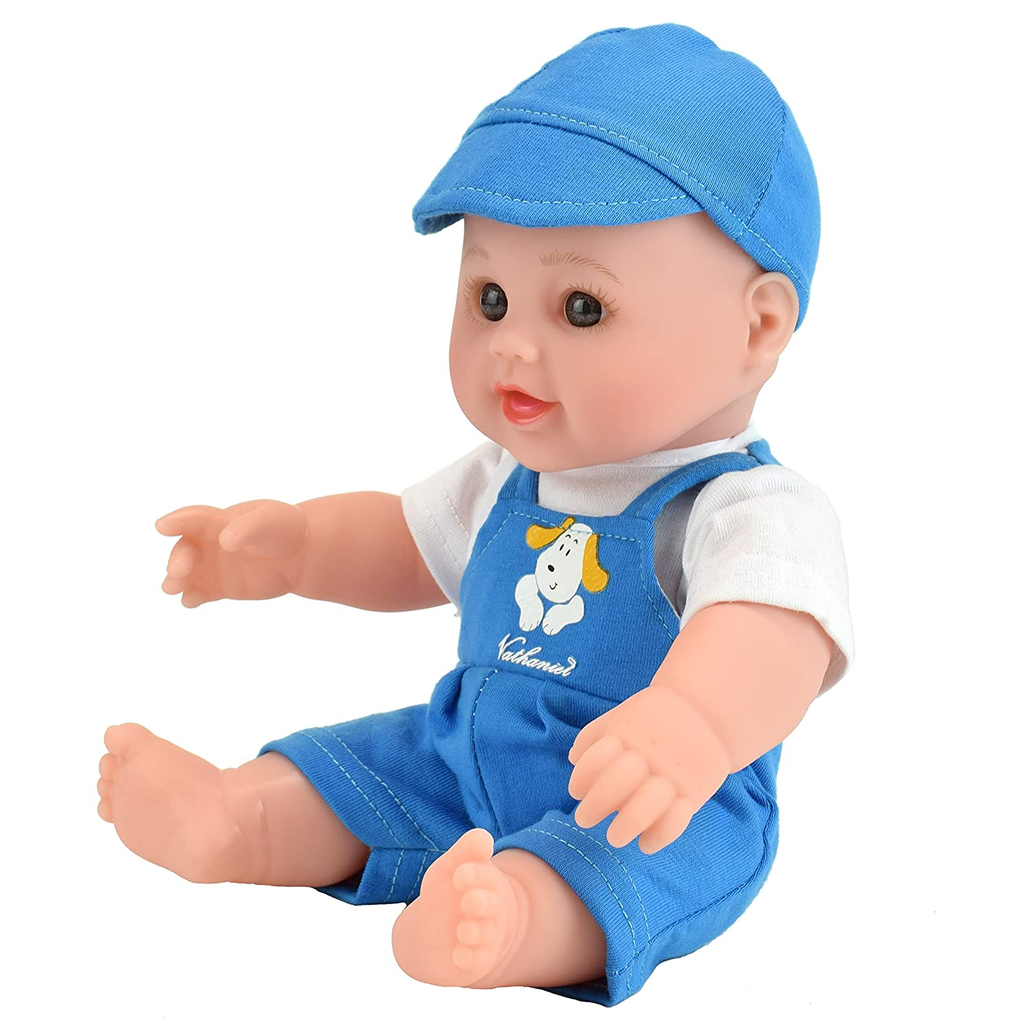 Lifelike Reborn Washable Silicone Doll. TUSALMO 12 inch Vinyl Newborn Baby Dolls for Childrens and Granddaughters Holiday Birthday Green