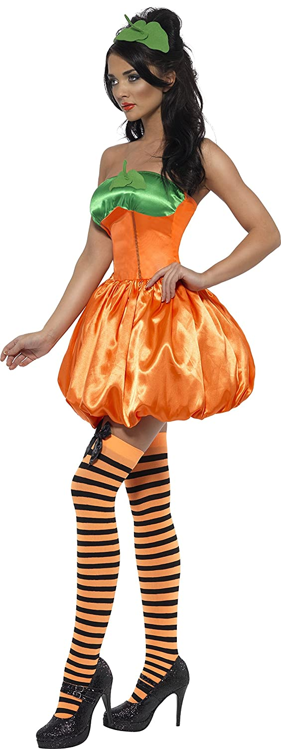Smiffys Fever Pumpkin Costume with Dress - Large: Amazon.es: Juguetes y juegos